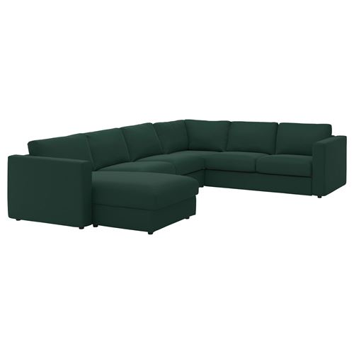 VIMLE,5-seat corner sofa and chaise longue