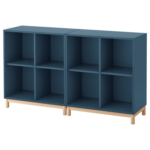 eket dolap kombinasyonu koyu mavi 140x35x80 cm ikea tv dolap sistemleri. Black Bedroom Furniture Sets. Home Design Ideas