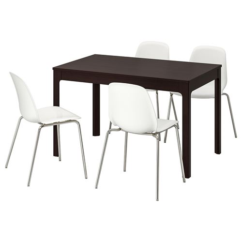 EKEDALEN/LEIFARNE,extendable table and chairs