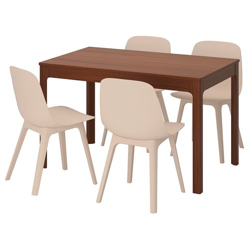 EKEDALEN/ODGER,dining table and chairs