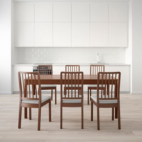 EKEDALEN,dining table and chairs