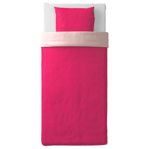 DVALA,single quilt cover and pillowcase