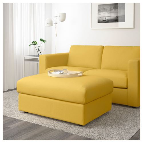 VIMLE,footstool with storage