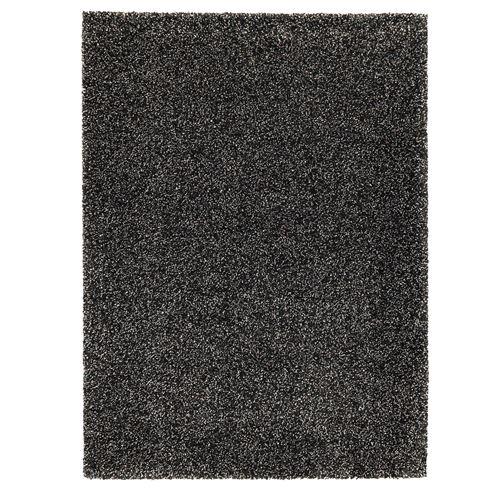 Vindum rug dark grey 200x270 cm ikea living room for Grey rug ikea