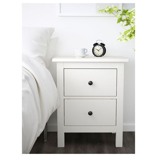 HEMNES,chest of 2 drawers/bedside table