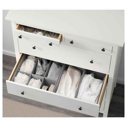 HEMNES,chest of 6 drawers