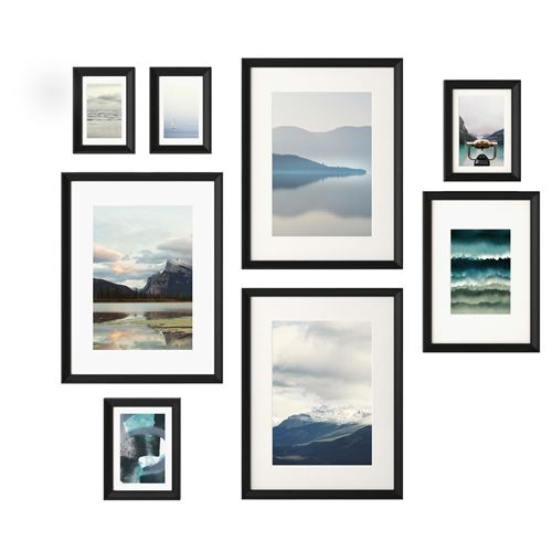 KNOPPANG picture with frame black | IKEA Home Decoration