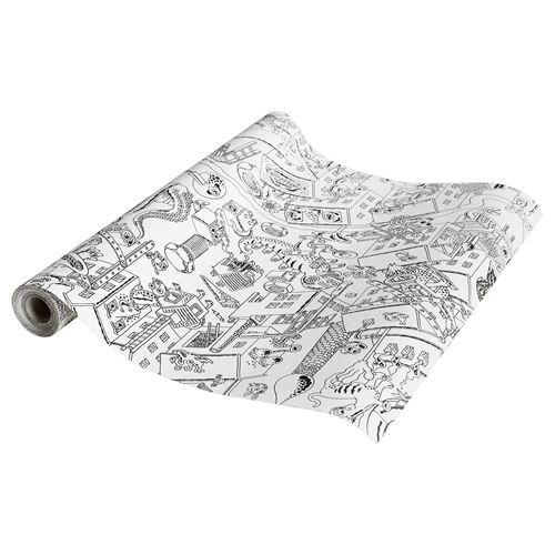 Lustigt Rulo Boyama Kağıdı 10 M Ikea Ikea çocuk