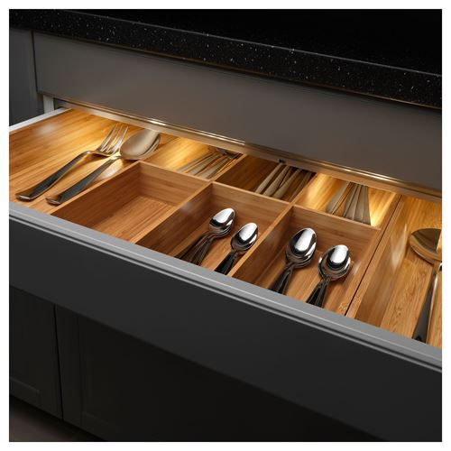 OMLOPP,LED lighting strip for drawers