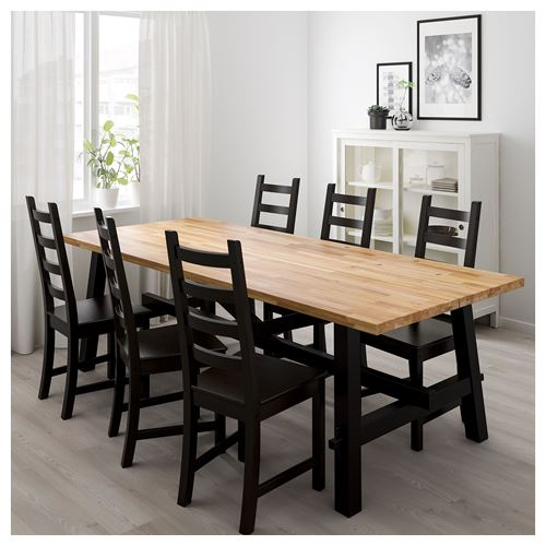 SKOGSTA,dining table