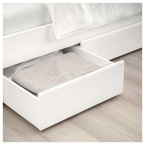 SONGESAND/LÖNSET,double bed with 2 storage boxes
