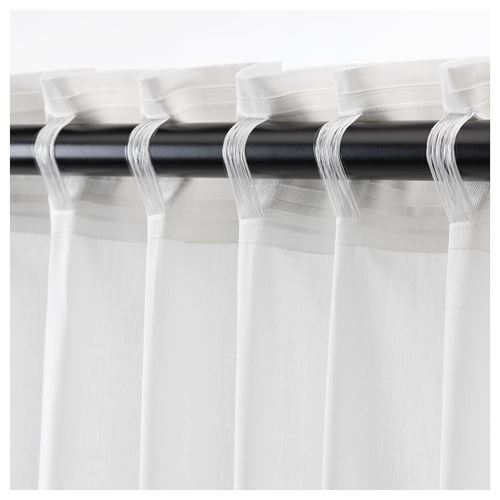 DJUNGELSKOG,curtains with tie-backs, 1 pair