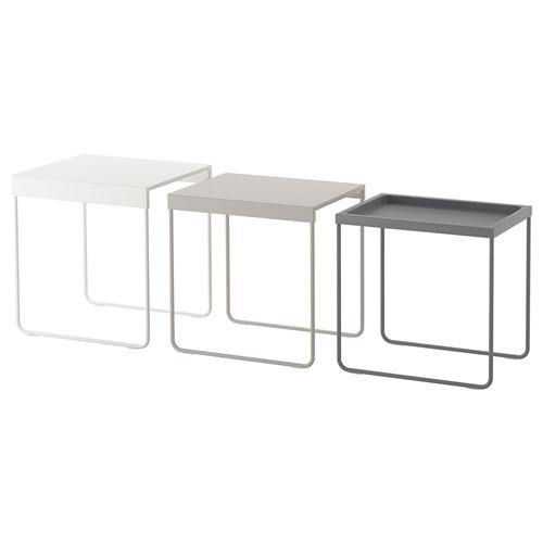 Granboda nest of tables ikea living room for Hover tr table