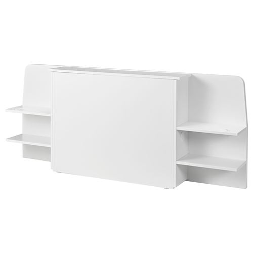 ASKVOLL,headboard with storage compartment
