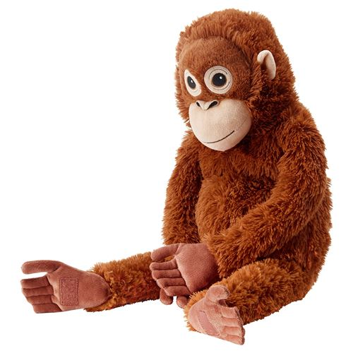 DJUNGELSKOG yumuşak oyuncak kahverengi | IKEA IKEA Çocuk
