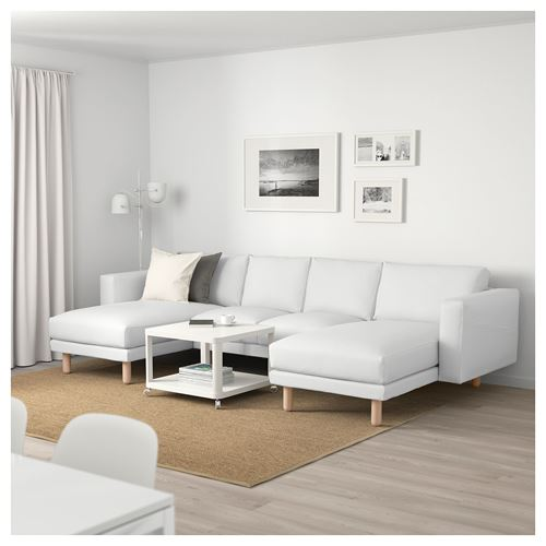 NORSBORG,2 chaise longues and 2-seat sofa