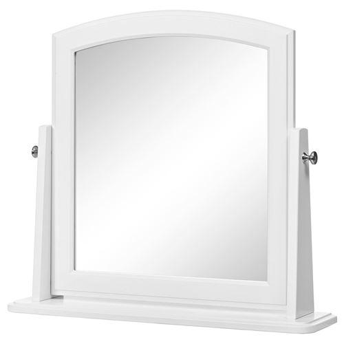 Tyssedal masa aynas beyaz 63x58 cm ikea yatak odalar - Spiegel zum hinstellen ...