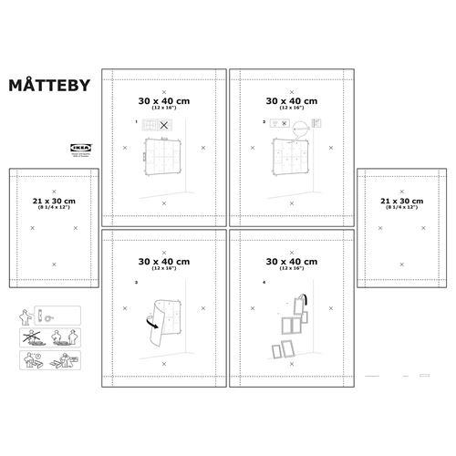 MATTEBY wall template   IKEA Home Decoration