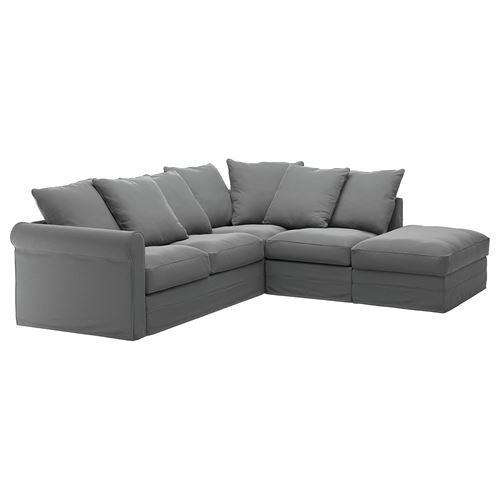 GRÖNLID,cover for corner sofa, 4-seat