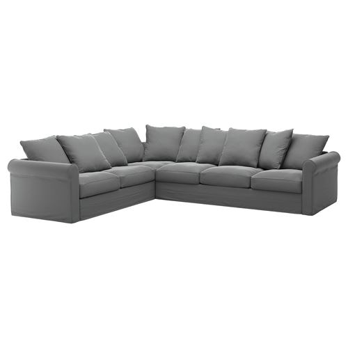 GRÖNLID,cover for corner sofa, 5-seat