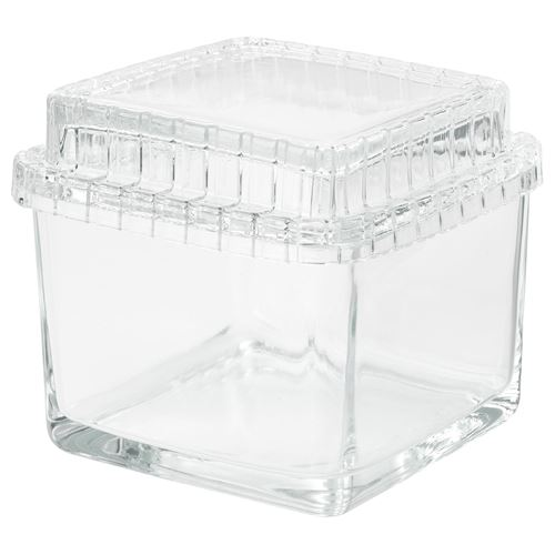 SAMMANHANG,glass box with lid