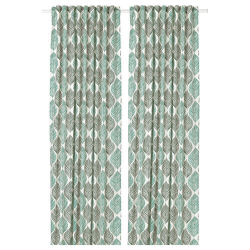FJADERKLINT,curtains, 1 pair