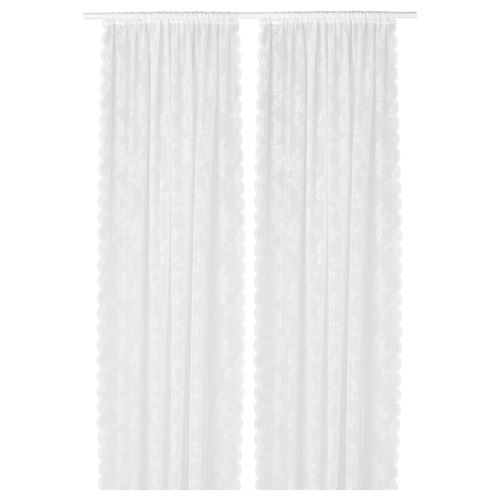ALVINE,sheer curtains, 1 pair