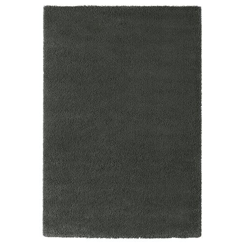 Ikea Adum Rug Light Brown Pink: ADUM Rug Dark Grey 133x195 Cm
