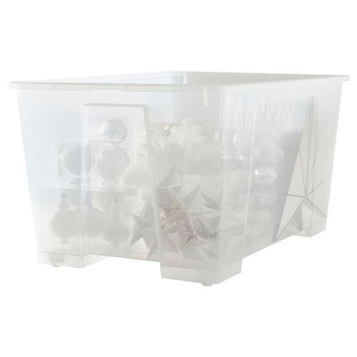 7178ef1e7e496 SAMLA kutu şeffaf 130 lt | IKEA Ev Düzenleme