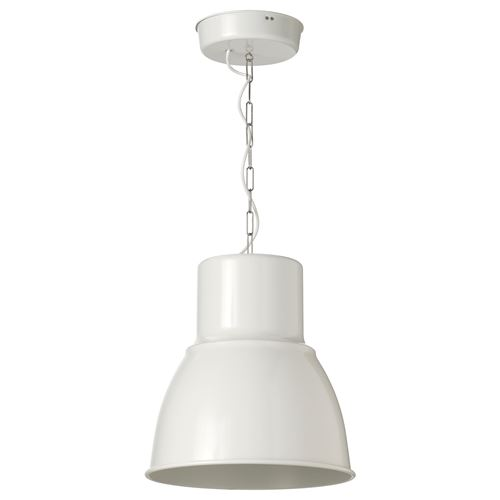 Hektar Pendant Lamp White 38 Cm Ikea Lighting