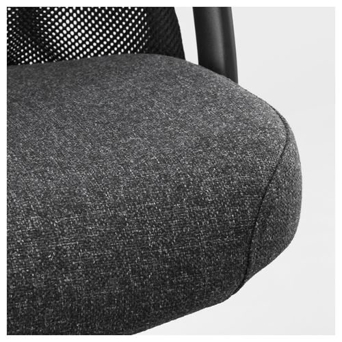 JARVFJALLET,swivel chair with armrests
