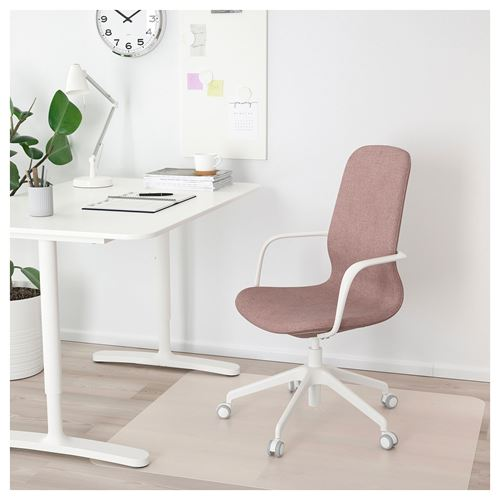 LANGFJALL,swivel chair with armrests