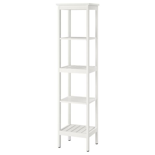 Hemnes Shelving Unit White 42x172 Cm Ikea Bathroom