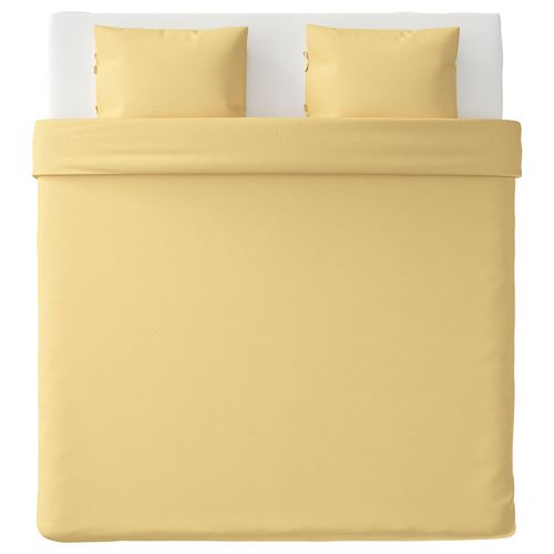 PUDERVIVA,double quilt cover and 2 pillowcases