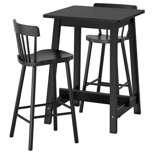 NORRAKER/NORRARYD,bar table and bar stools