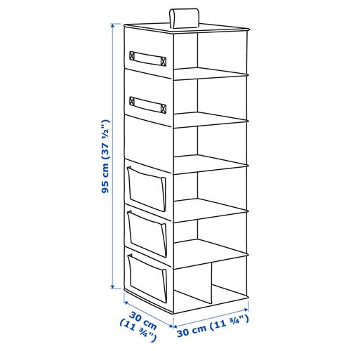 STORSTABBE,storage with compartments