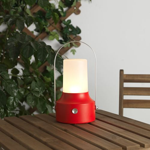 SOLVINDEN,LED solar-powered lantern