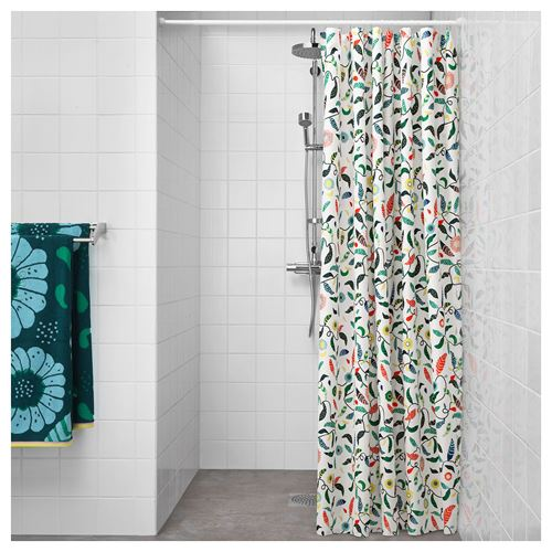 SANDBREDAN,shower curtain