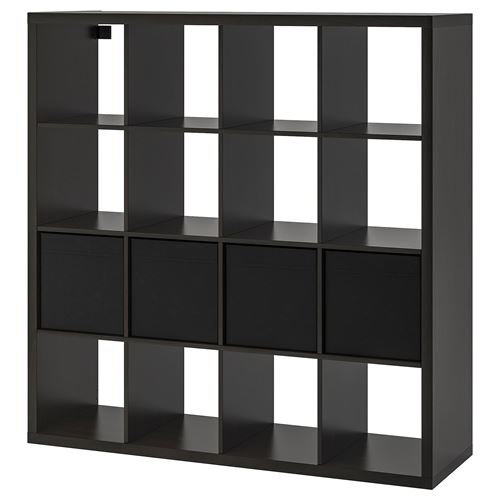 KALLAX/DRÖNA,shelving unit with 16 compartments