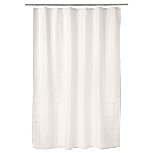 KLOCKAREN,shower curtain