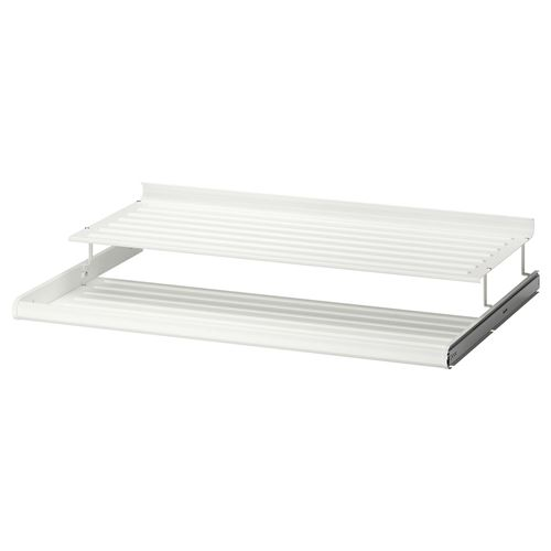 komplement pull out tray with rail white 100x58 cm ikea. Black Bedroom Furniture Sets. Home Design Ideas