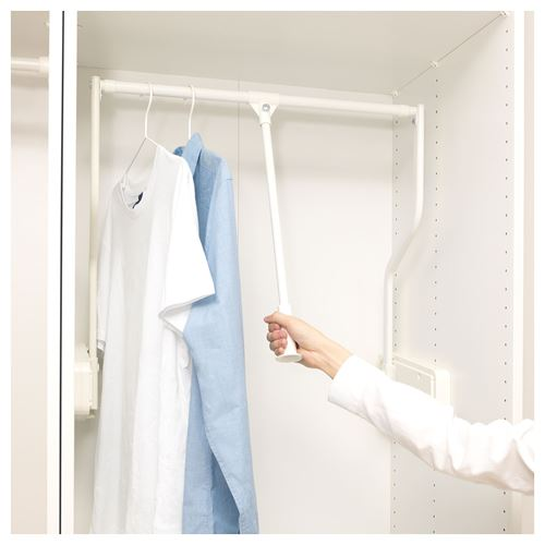 KOMPLEMENT,pull-down clothes rail, extendable