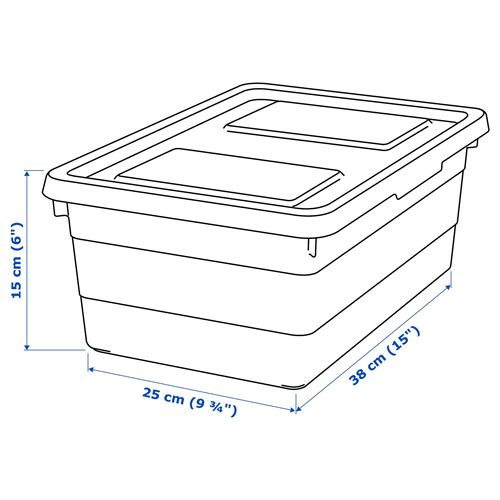 SOCKERBIT,box with lid