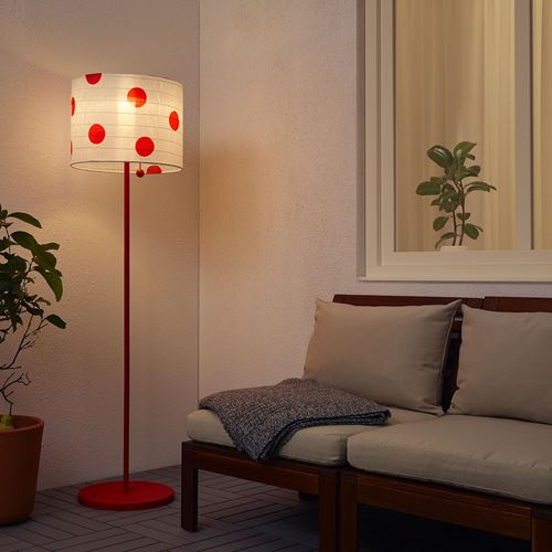 SOLVINDEN,LED solar-powered floor lamp