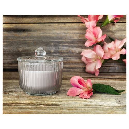 BLOMDOFT,scented candle in glass