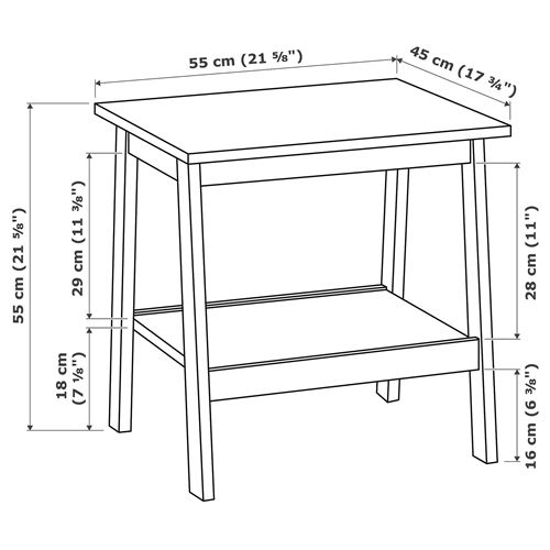 LUNNARP,pedestal table