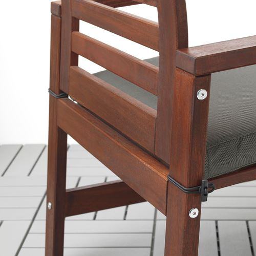APPLARÖ,dining table-chair-bench with backrest set