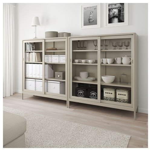 IDASEN,glass-door cabinet