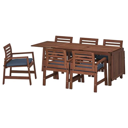APPLARÖ,drop-leaf dining table and chair set