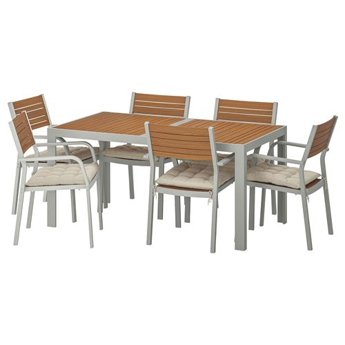SJALLAND,dining table and chairs